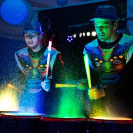 Show de Tambores (Agua y Luz)