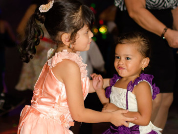 Qué hacer cuando tienes que invitar muchos niños a la boda?